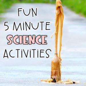 Quick and easy science activities for grade 4 5 6 to add to your curriculum.