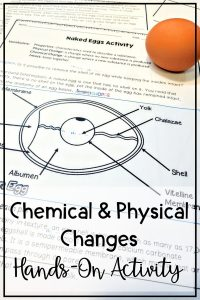 Teaching students about how matter changes