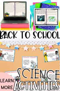 Back to School Science activities