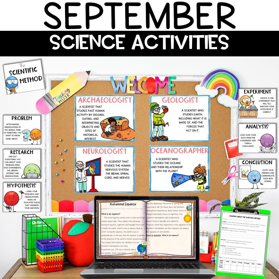 Back to School September Science Activities