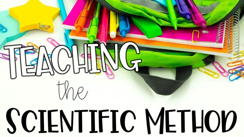 Free activity to teach the scientific method